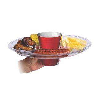 Super Tailgate Plate, 2 Pack