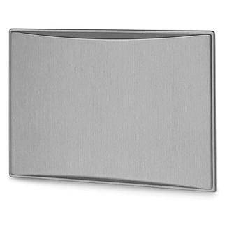 New Generation 9.0CF Refrigerator Door Panels, Contoured - Brushed Aluminum