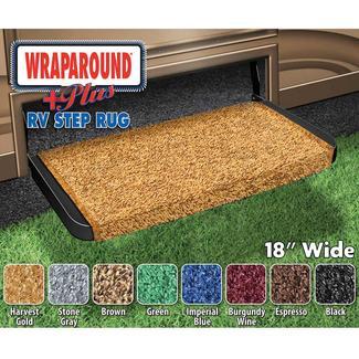 Wraparound Plus RV Step Rug, 18