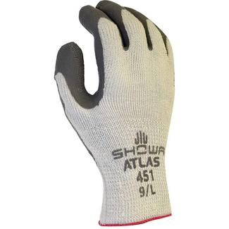 Atlas Therma Fit Latex Coated Gloves, X-Large