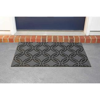 Welcome Patio Mat, 18' x 30', Clementine