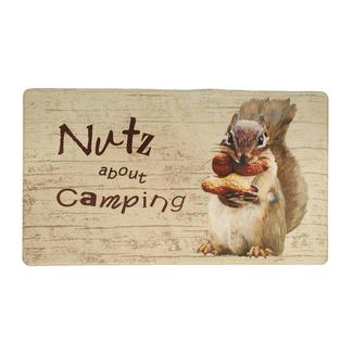 Anti-Fatigue Kitchen Mat, Nutz About Camping