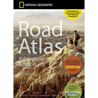 National Geographic Road Atlas – Adventure Edition