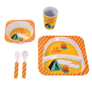 Camping Meal Set, Yellow Lil' Camper Set