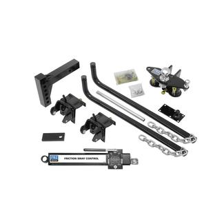 Pro Series Complete Round Bar Weight Distribution Hitch Kit, 750 lb. Tongue Weight