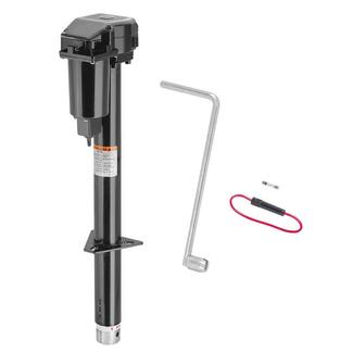 Pro Series Powered A-Frame Trailer Jack, 2,500 lbs