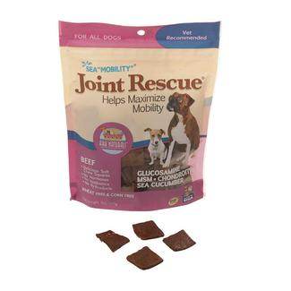 Sea Mobility Joint Rescue Jerky Chews, 9 oz. Bag, Beef Flavor