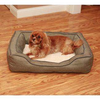 """30"""" x 24"""" Pet Bed, Tweed"""