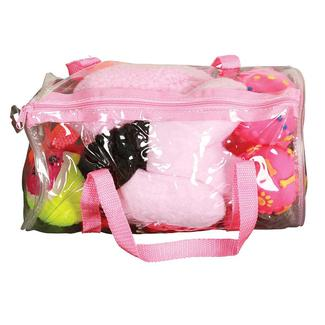 8 Piece Pet Toy Set, Pink