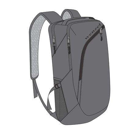 Wenzel Influx 25L Commuter Daypack, Gray