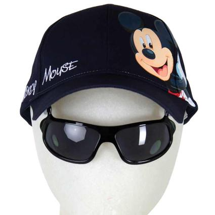 Disney Themed Kids' Sunglasses Hats, Mickey Righto, Blue