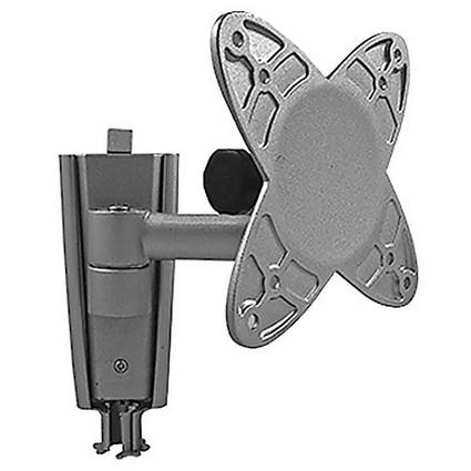 Flat Panel LCD TV Wall Mount Bracket with Single Swing Arm Extension