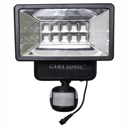 Solar security light with motion sensor gama sonic usa inc solar security light with motion sensor mozeypictures Choice Image