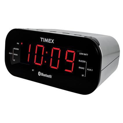 Timex Bluetooth Dual Alarm Clock Radio