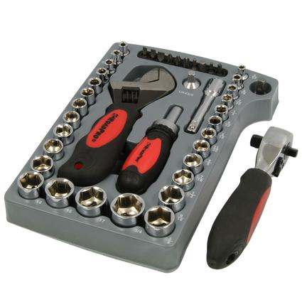 45-Piece Stubby Tool Set with Case