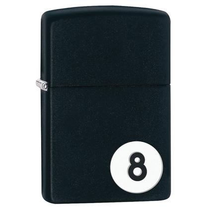 Zippo Lighter, 8-Ball Design