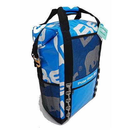 Polar Bear H2O Backpack Cooler, Ice Blue