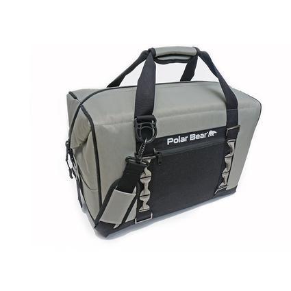 Polar Bear 24 Pack Eclipse Cooler, Silver