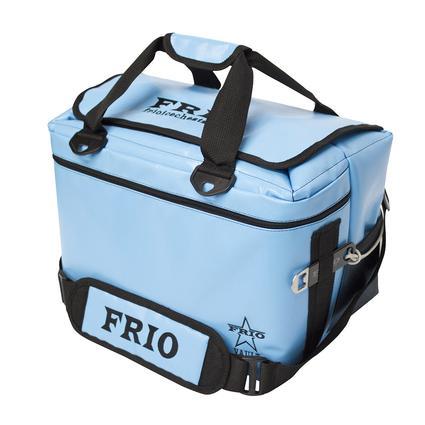 Frio Vault Soft Side Cooler, Blue, 24 Cans