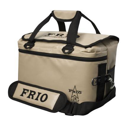Frio Vault Soft Side Cooler, Tan, 12 Cans