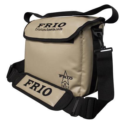 Frio Vault Soft Side Cooler, Tan, 6 Cans