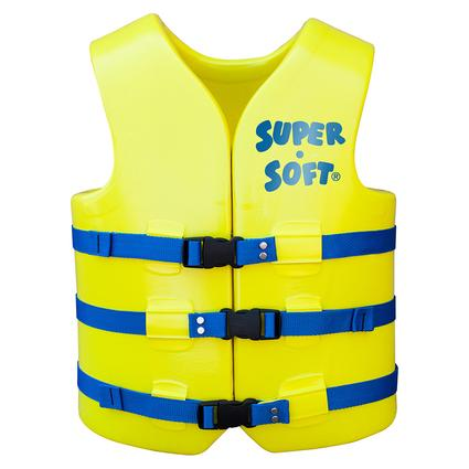 Super Soft Adult Life Vest, X-Small, Yellow