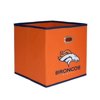 NFL Denver Broncos Fabric Storage Bin, 3 Pack