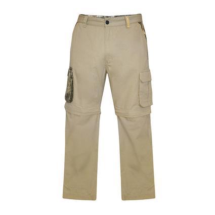 Realtree Men's Ripstop Zip-Off Cargo Pant, Chinchilla, 46x32