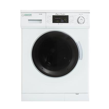 Equator 1.57 cu.ft. Compact Convertible Super Combo Washer with Venting/Condensing Drying and Automatic Water Level and Sensing Dry, White