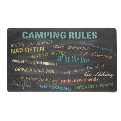 Anti-Fatigue Kitchen Mat, Camping Rules