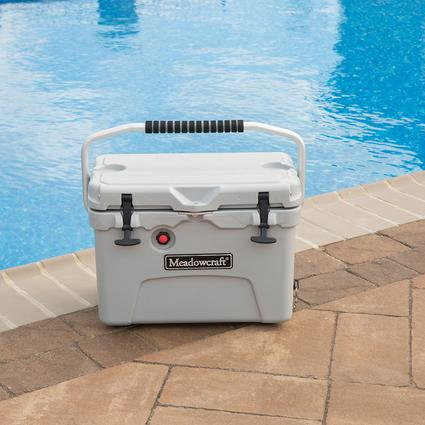 Legacy nICE Ultra Heavy-Duty Cooler, Gray