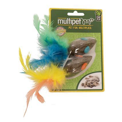 Compressed Catnip Mice 2 Pack