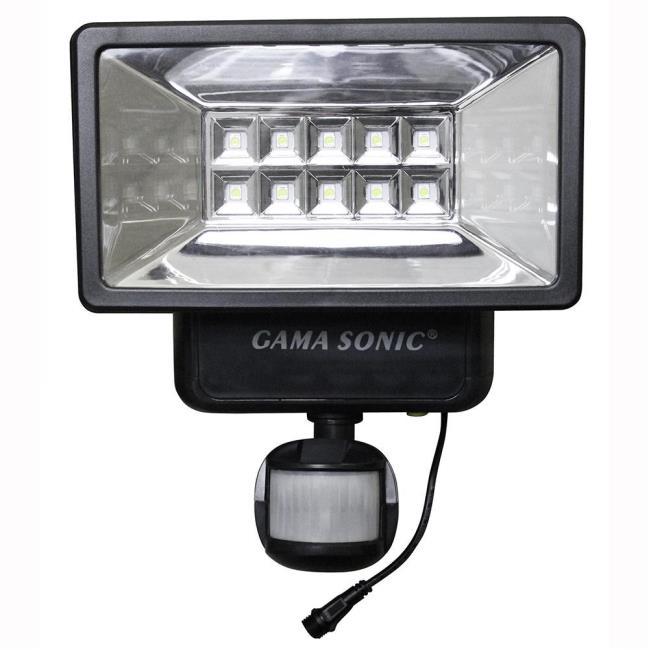 Solar security light with motion sensor gama sonic usa inc 10pir01 image solar security light with motion sensor to enlarge the image click or press aloadofball Choice Image
