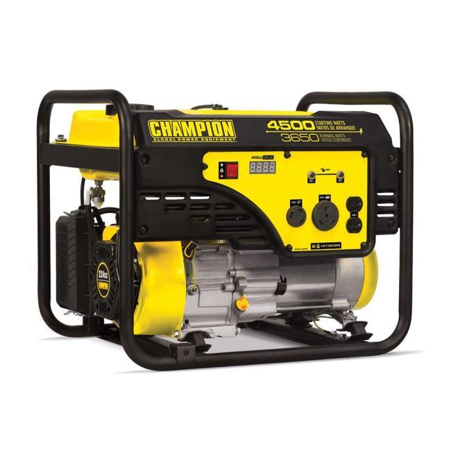 Champion 3650 Watt Portable Generator 100331, 49-State - Camping World