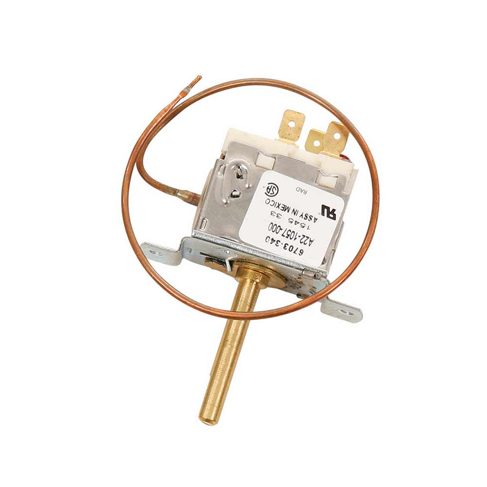 Thermostat Manual Control Heat Cool Rv Products 6703 3401 Heating Ac Wiring To Carrier Strips Thermostats Camping World
