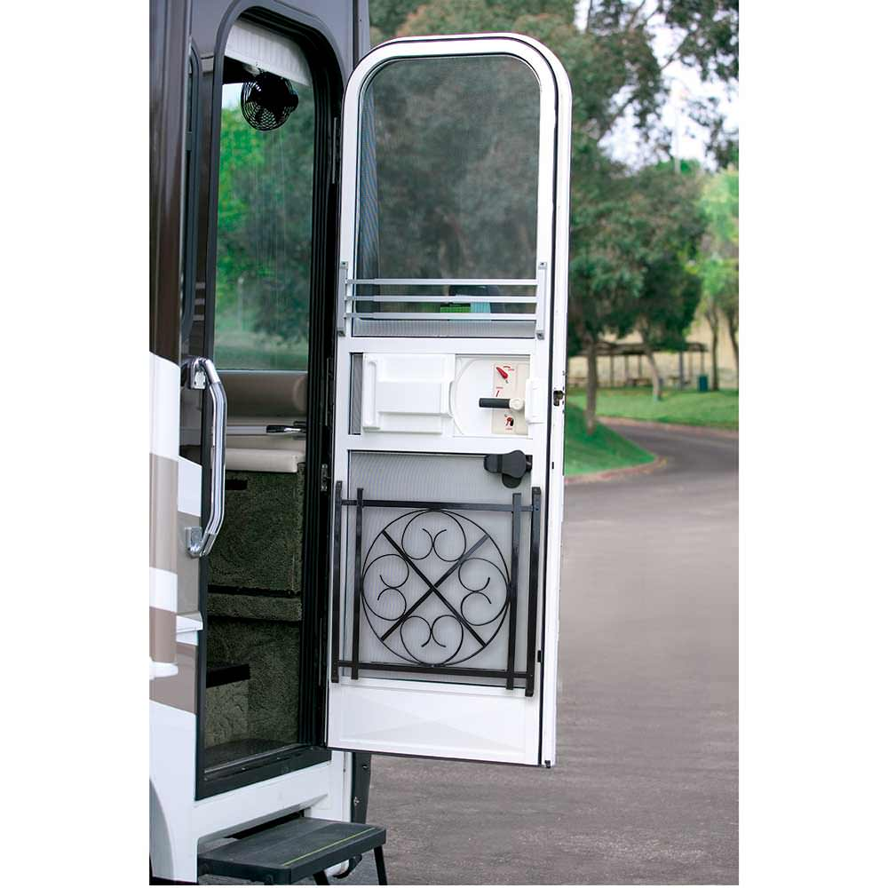 Rv Screen Door Grille Black Camping World