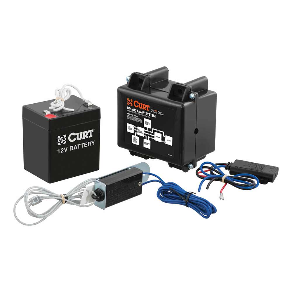 Breakaway Kit Curt Manufacturing 52040 Parts Camping World Attwoodr 4way Flat Wiring Harness For Vehicles And Trailers