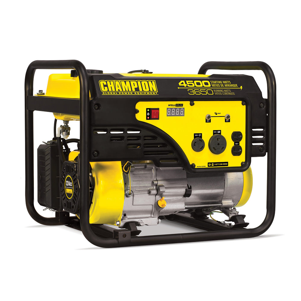 Champion 3650 Watt Portable Generator Carb Compliant