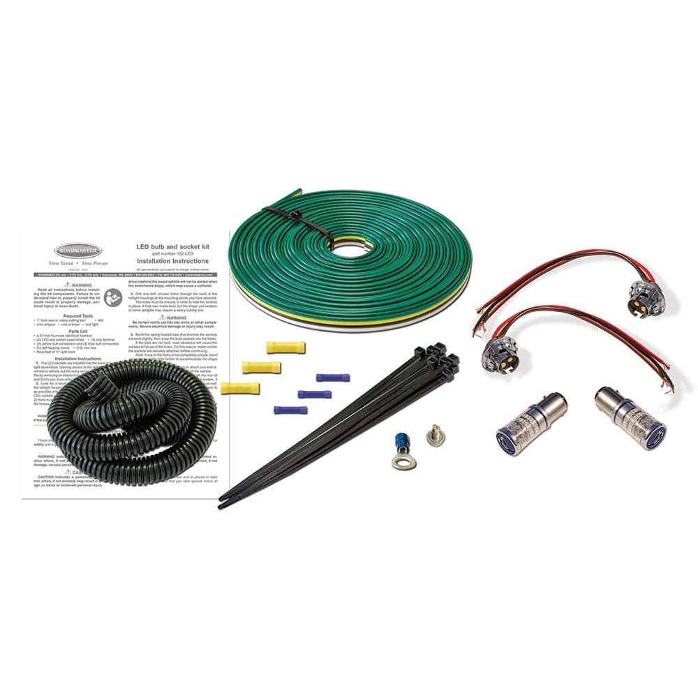 Led Taillight Wiring Kit Roadmaster 152 Kits Safety A 45 Amp Cooker Switch Cables Camping World