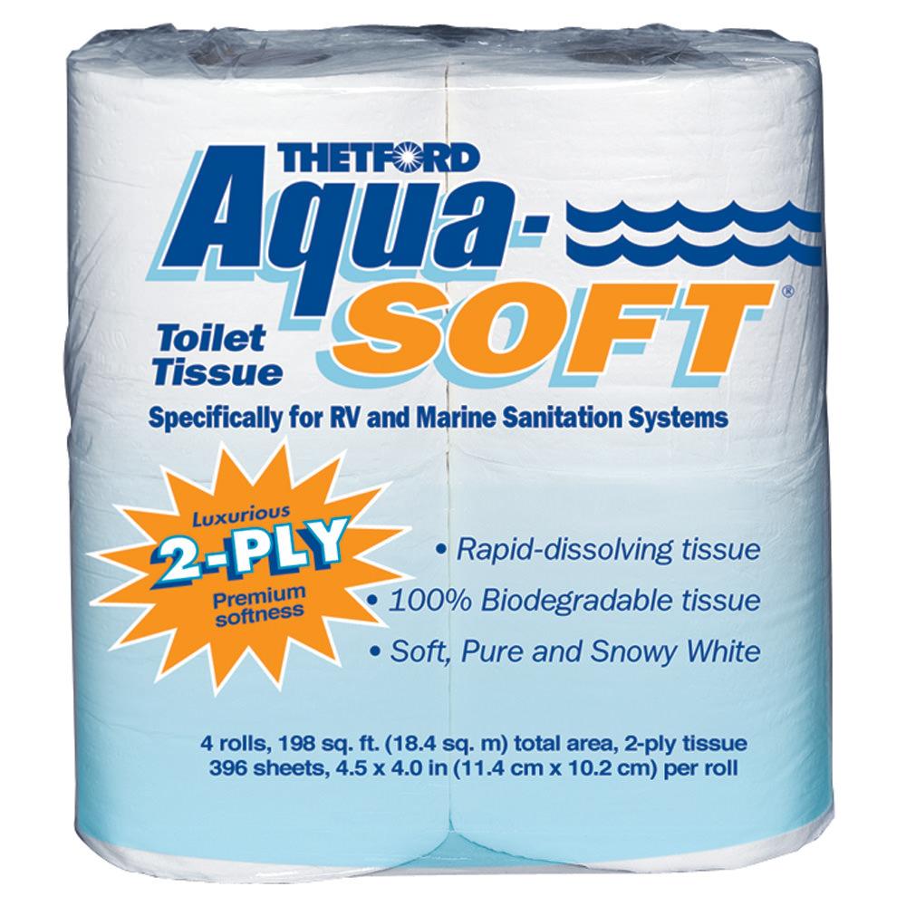 Thetford Aqua Soft 2 Ply Rv Toilet Paper Thetford 03300d