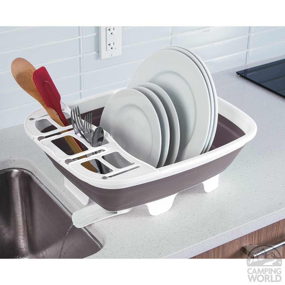 Swivel Collapsible Dish Rack Progressive International