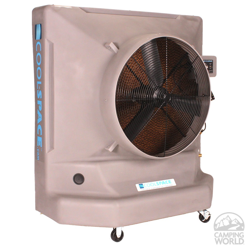 Evaporative Cooling Multi Sycle : Cool space avalanche variable speed direct drive portable