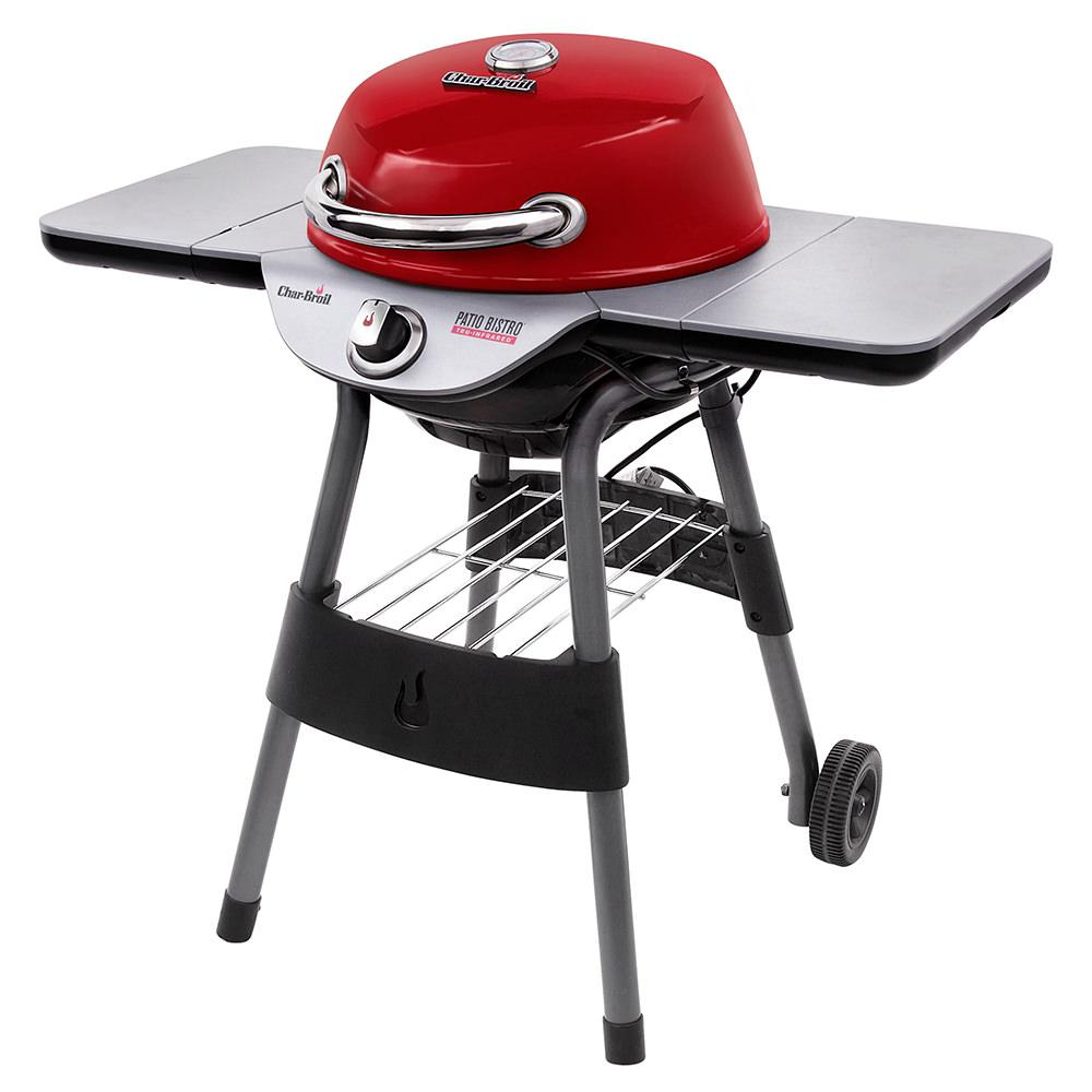 ... Char Broil TRU Infrared Electric Patio Bistro 240 Grill, Red ...