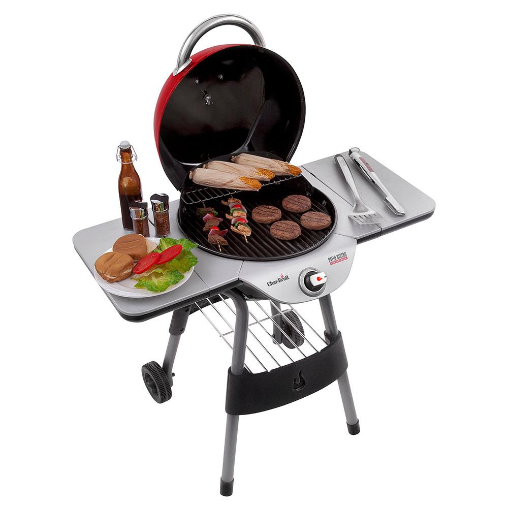 Char Broil Tru Infrared Electric Patio Bistro Grill Red