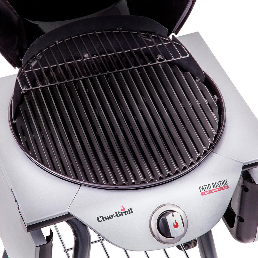 Char-Broil TRU-Infrared Electric Patio Bistro 240 Grill, Red - Char ...