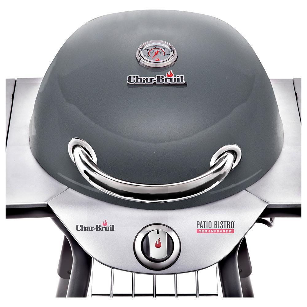 char broil tru infrared electric patio bistro 240 grill