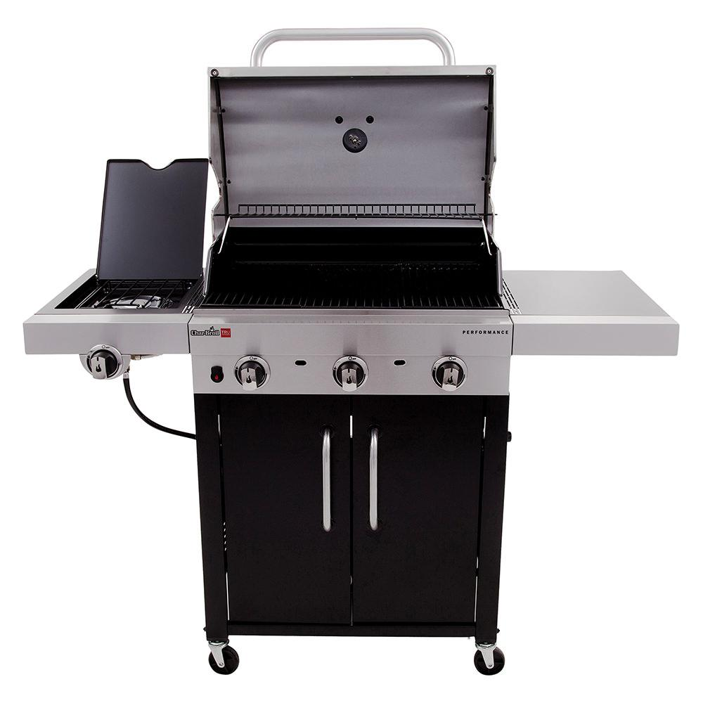 char broil performance tru infrared 3 burner cabinet gas grill