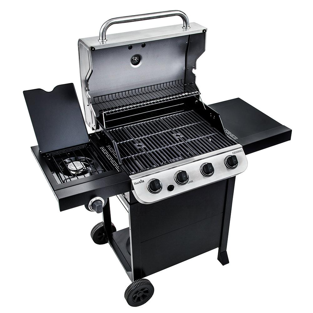char broil performance 4 burner gas grill 36 000 btu char broil 463376017 gas grills. Black Bedroom Furniture Sets. Home Design Ideas