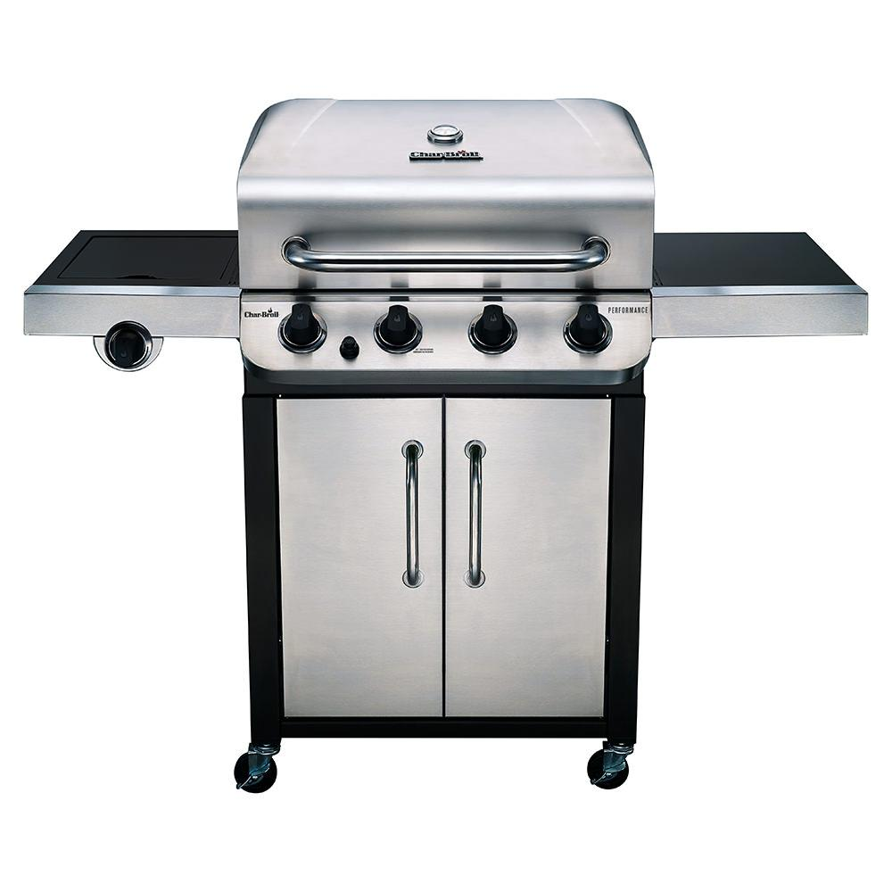 Grill Cabinet: Char-Broil Performance 4 Burner Cabinet Gas Grill, 36,000