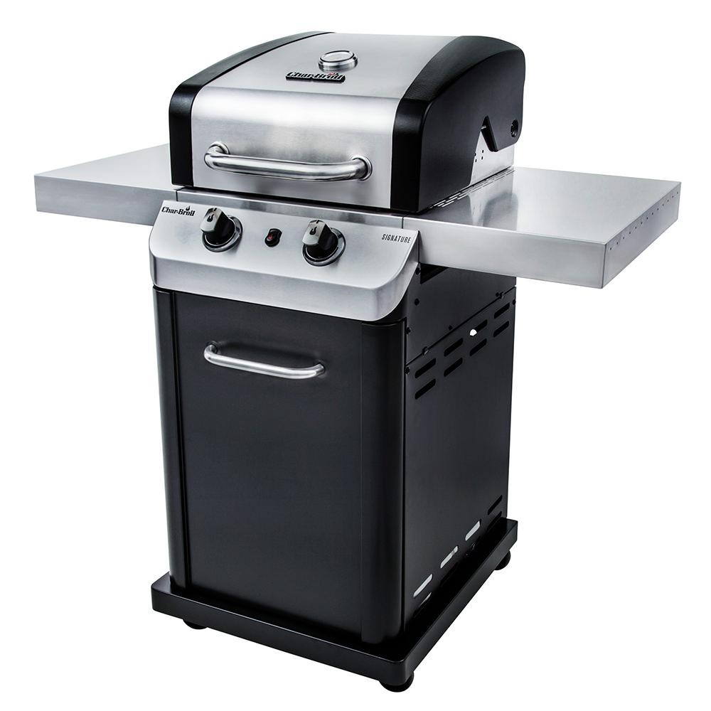 char broil signature 2 burner cabinet gas grill 16 000 btu char broil 463675517 gas grills. Black Bedroom Furniture Sets. Home Design Ideas
